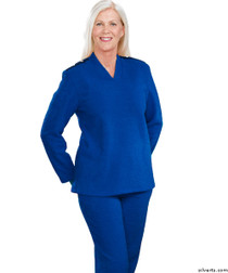 Silvert's 252500102 Plus Size Adaptive Tracksuit For Women , Size Medium, COBALT
