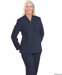 Silvert's 252500302 Plus Size Adaptive Tracksuit For Women , Size Medium, NAVY