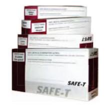 Disposamed FVG404 SAFE-T VINYL LIGHTLY Powdered Gloves X-Large 1000/Case