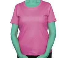 Silvert's 132200401 Women's Regular Crew Neck TShirt Top , Size Small, PINK CARNATION (Silvert's 132200401)