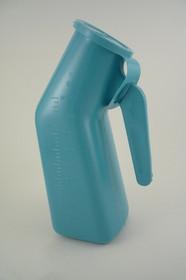 URINAL PLASTIC AUTOCLAVABLE with Lid Hanging 1L (1qt) (VOL00095)