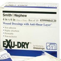 Dressing EXU-DRY BURN WOUND w/ANTI- SHEAR 10 x 15cm LF BOX/10 (SN-599900425)
