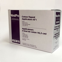"Cotton-Tipped Applicator 6"" Sterile 2's (018-430) (635-018-430)"