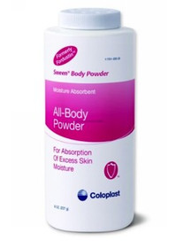 Coloplast 0505 SWEEN BODY POWDER 227g bottle