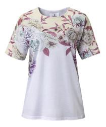 Silvert's 230900204 Women's Short Sleeve, Open Back Adaptive Tshirt, XL, YELLOW