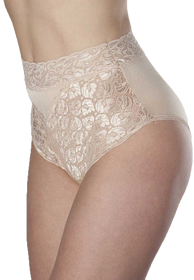 Wearever L109-IVORY-MED Women's Lace Incontinence Panties