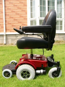 The Zip'r PC Power Wheelchair Red - Free Shipping
