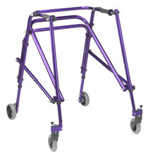 Wenzelite KA4200S-2GKB Nimbo Posterior Walker with Seat large Blue