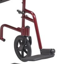 Drive Medical ATCSFR Footrest, ATC, Red, 1pr/box