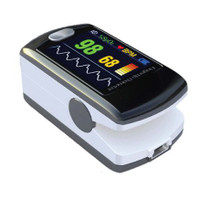 ToronTek E400 fingertip oximeter- recording and alarm feature