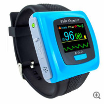 ToronTek B400 wristband oximeter- recording and alarm feature