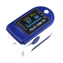 ToronTek G64 Pulse Oximeter measuring SPO2 and pulse rate- OLED screen