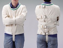 Posey 8118L Straitjacket COTTON CANVAS, Large