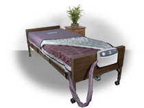 "Drive 14027 Med-Aire 8"" Alternating Pressure and Low Air Loss Mattress System"