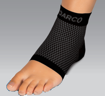 Darco DCS-PF2-B DARCO Plantar Fasciitis Sleeve, Black, Medium