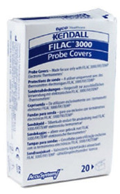 Kendall 502000 Filac 3000 Thermometer Probe Covers, Case of 2000