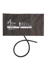 Amico CR2-LF13W-1 2-Piece Thigh Blood Pressure Cuff w/ 1 Tube - w/ No Connectors