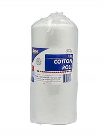 "Dukal CR1-12 Cotton Roll, 1 lbs, 11.75"" x 2.45 yards, Case of 12"