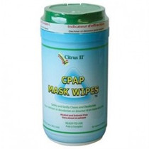 "Beaumont 635871639 CITRUS II CPAP MASK CLEANING WIPES, 5"" X 8"""