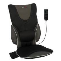 ObusForme® CC-BDS-01 Hero Home/Auto Back & Seat Heated Chair Massage Cushion with Remote