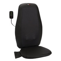 ObusForme® SM-SMC-05 Hero Deep Kneading Shiatsu Back Massaging Chair Cushion w/Heat