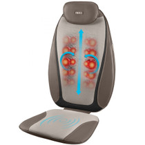 HoMedics® MCS-380H Hero 3 Node Dual Shiatsu Back and Seat Massage Cushion with Heat