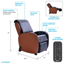 ObusForme® OFMC-BKTF-300 Champion 3 Action neck to seat with position control