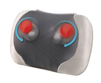 HoMedics® SP-75H-CA Line Extension Shiatsu & Vibration Massage Pillow w/ Heat and Remote