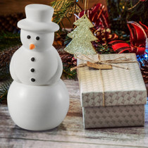 Ellia® ARM-P170WT-EO11 Hero Snowman, Essential Oil Diffusser - 10ml SnowGlobe Included (Ellia ARM-P170WT-EO11)