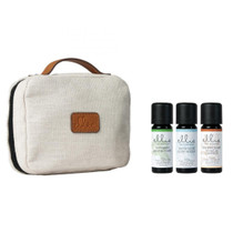 Ellia® ARM-EO10HOL2-CA Hero Travel Pouch with Oils: Holiday - Snow Globe/Peppermint/Cinnamon (Ellia ARM-EO10HOL2-CA)