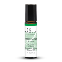 Ellia® ARM-EO10ROPEP Hero Peppermint -Refreshing, Uplifting, Focus, Cooling Roll-On Essential Oil (Ellia ARM-EO10ROPEP)
