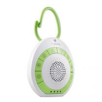 My Baby® MYB-S115 SoundSpa On-the-Go - Heartbeat, Lullaby, White,Ocean