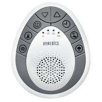 HoMedics® SS-1200 SoundSpa Mini SoundSpa Portable, 4 sounds, Off timer