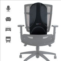 ObusForme® UF-SDM-SM UltraForme - Fullback, universal design to fit most chairs >5.2""