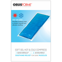 ObusForme® CO-HOT-SG Hot/Cold Compress Soft GEL, Large