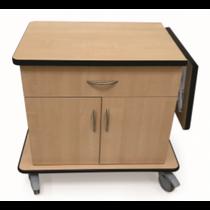Novum 9203-C Case Cart, Melamine (Novum 9203-C)