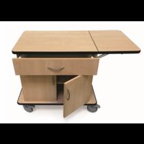 Novum 9203-C Case Cart, Melamine