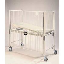Novum C1980CLT Crib, Infant, Flat Pan Trendelenburg Deck, 30 x 44, Chrome (Novum C1980CLT)