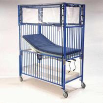 Novum C1982CGT Crib, Child Klimer, Gatch/Trendelenburg Deck, 30 x 60, Chrome (Novum C1982CGT)