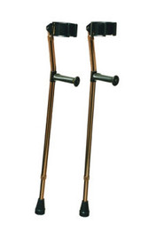 Graham-Field Health 6347 Deluxe Crutches Forearm Ortho-Ease adjustable, Small