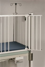 "Novum C45 -1-44 Dialysis Gate, One Side, (2) Door Same Side 1 Reg Left Side or Right Side, for 44"" Crib"
