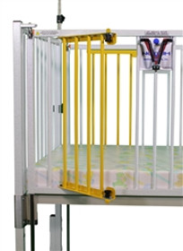 "Novum C45-1-60 Dialysis Gate, One Side, (2) Door Same Side 1 Reg Left Side or Right Side, For 60"" Crib"