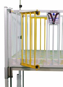 "Novum C45-2-60 Dialysis Gate Pair, R and L Side Across Head End or Foot End, for 60"" Crib"