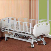 """Novum 115E-H-A Youth Bed, Electric, 5"""" Casters, 6 IV Hooks"""