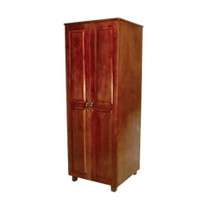 "Novum LEX-W24 LEXINGTON SERIES Wardrobe, 2 Doors, 24"" Interior, 27.5""W X 25""D X 72""H"