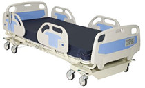 "Novum NV-ACB-A02-L Adult Bed; 84"", 5 Position; Electric; with manual CPR release & footboard controls, Nurse Call"