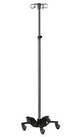 Novum IVSTAND-04N IV Stand, 5 Legs, 4 Rams Hooks