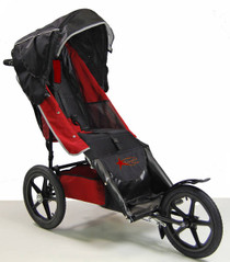 Adaptive Star Ai3R Axiom IMPROV 3 Indoor/Outdoor Mobility Push Chair Red
