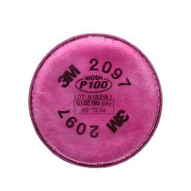 3M-7093 FILTER P100 FOR HALF FACEPIECE, Each