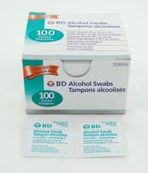 BD 326910 ALCOHOL SWAB BX/100